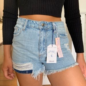 Fashion Nova jean shorts